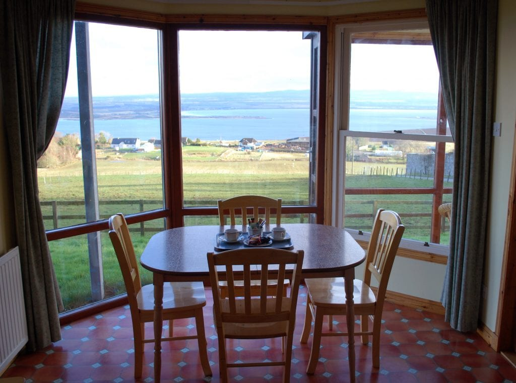 Callachy Cottage Dining